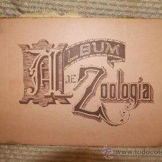 Libros antiguos: 2217- ALBUM DE ZOOLOGIA. FAUSTINO PALUZIE EDITORES. PRIMERA PARTE 1900. . Lote 35185472