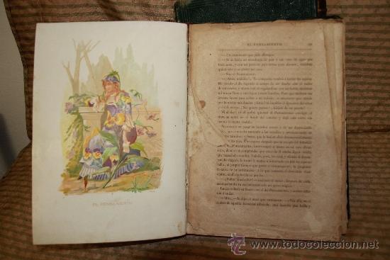 Libros antiguos: 2239- LA VIDA DE LAS FLORES. P. G. S XIX. S/F. FALTO DE PAGINAS. 2 TOMOS. - Foto 3 - 35228843