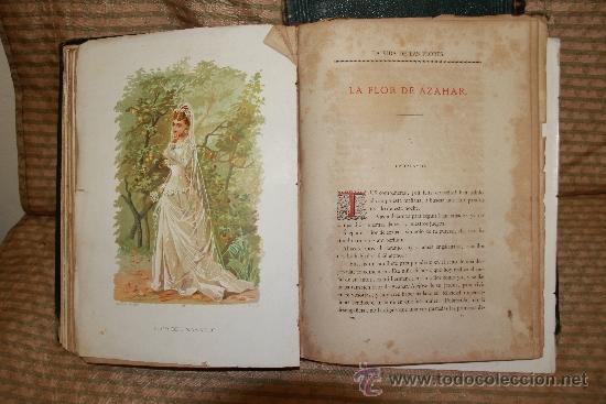 Libros antiguos: 2239- LA VIDA DE LAS FLORES. P. G. S XIX. S/F. FALTO DE PAGINAS. 2 TOMOS. - Foto 4 - 35228843