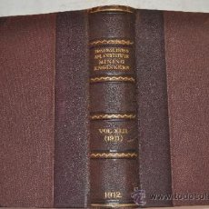 Libros antiguos: TRANSACTIONS OF THE AMERICAN INSTITUTE OF MINING ENGINEERS. VOL. XLII. RM51293. Lote 35242536