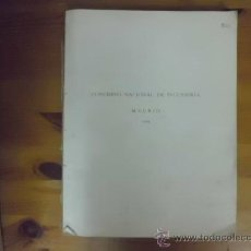 Libros antiguos: LIBRO CONGRESO NACIONAL DE INGENIERÍA MADRID 1919 L-2983. Lote 35850914