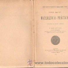 Libros antiguos: MATEMATICAS PRACTICAS (A-MAT-335). Lote 35908399