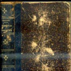 Libros antiguos: CORTÁZAR: GEOMETRÍA, TRIGONOMETRÍA Y TOPOGRAFÍA (1894). Lote 35915507