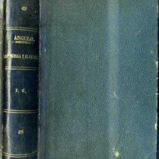 Libros antiguos: ANGULO : ELEMENTOS DE ARITMÉTICA Y ÁLGEBRA (1887). Lote 35915669