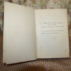 Libros antiguos: 2703- NOTAS SOBRE EL AUMENTO DE LA ENTROPIA.J.R. DE ZUBIRIA. 1928/1951.. Lote 36157205