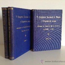 Libros antiguos: 1935.- V CONGRESO NACIONAL DE RIEGOS Y EXPOSICION ANEJA CELEBRADOS EN VALLADOLID DEL 23 AL 30...1934. Lote 36668176
