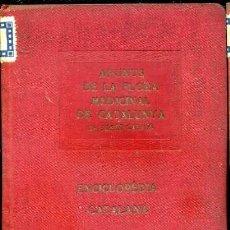 Libros antiguos: J. CALICÓ : APUNTS DE LA FLORA MEDICINAL DE CATALUNYA - ENCICLOPÉDIA CATALANA, 1921. Lote 37123686