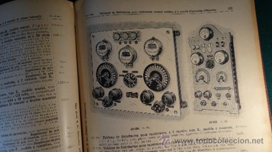 Libros antiguos: CATALOGO DE INSTALACIONES DE FISICA Y QUIMICA. MAX KOHL Nº 50, TOMO 1 (1911) CHEMNITZ ALEMANIA - Foto 8 - 37273703