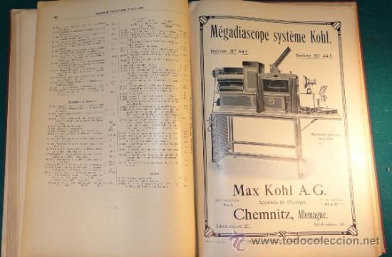 Libros antiguos: CATALOGO DE INSTALACIONES DE FISICA Y QUIMICA. MAX KOHL Nº 50, TOMO 1 (1911) CHEMNITZ ALEMANIA - Foto 10 - 37273703