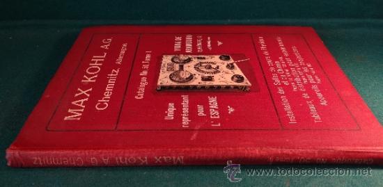 Libros antiguos: CATALOGO DE INSTALACIONES DE FISICA Y QUIMICA. MAX KOHL Nº 50, TOMO 1 (1911) CHEMNITZ ALEMANIA - Foto 13 - 37273703