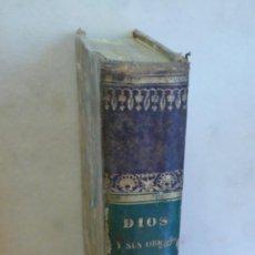 Libros antiguos: DIOS Y SUS OBRAS. ALBUM DE TORTUGAS, LAGARTOS, BATRACIANOS, SERPEINETES.. 164 LÁMINAS EN ACERO. 1842. Lote 37600712