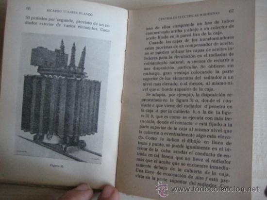 Libros antiguos: CENTRALES ELECTRICAS MODERNAS - Foto 3 - 37719255