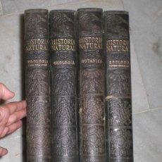 Libros antiguos: HISTORIA NATURAL, 1925- VIDA DE LOS ANIMALES, DE LAS PLANTAS Y DE LA TIERRA - 4 TOMOS. Lote 37977848