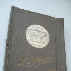Libros antiguos: CATÁLOGO DE J. P. MARTÍN, ARBORICULTOR Y FLORICULTOR,SEVILLA.- INDUSTRIAS GRÁFICAS CANTI.- BARCELONA. Lote 38054685