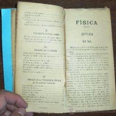 Libros antiguos: OPTICA Y TELEGRAFÍA ÓPTICA. Lote 38103042