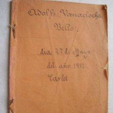Libros antiguos: GEOMETRÍA Y DIBUJO LINEAL. SOLANO VITÓN, PABLO. 1908. Lote 38433828