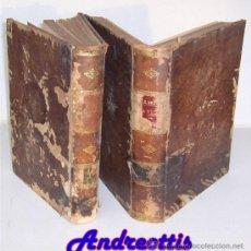 Libros antiguos: LA VIDA DE LOS ANIMALES POR EL DR. A. E. BREHM TOMOS 1 Y 2 AÑO 1880 PRIMERA EDICIÓN ESPAÑOLA. Lote 38424881