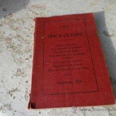 Livros antigos: LIBRO PISCICULTURA DARDER BARCELONA 1913 ED. HIJOS DE DOMINGO CASANOVA L-4354. Lote 38606098