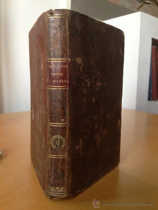1842.- REFLEXIONES SOBRE LA NATURALEZA. STORM. TOMO VI Y ULTIMO. (Libros Antiguos, Raros y Curiosos - Ciencias, Manuales y Oficios - Biología y Botánica)