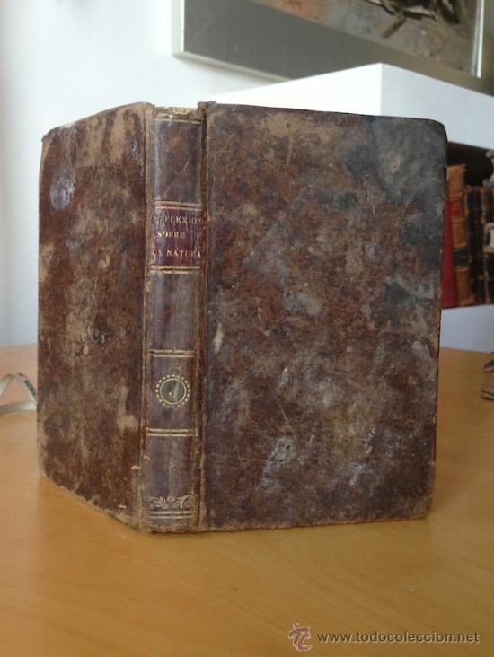 1842.- REFLEXIONES SOBRE LA NATURALEZA. STORM. TOMO I (Libros Antiguos, Raros y Curiosos - Ciencias, Manuales y Oficios - Biología y Botánica)