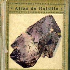 Libros antiguos: PARDILLO : ATLAS DE MINERALOGÍA (1926). Lote 38914927