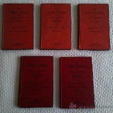 Libros antiguos: LAS CIENCIAS NATURALES EN LA EPOCA MODERNA POR ODÓN DE BUEN. COMPLETO 5 TOMOS. PRINCIPIOS SIGLO XX. Lote 33139975
