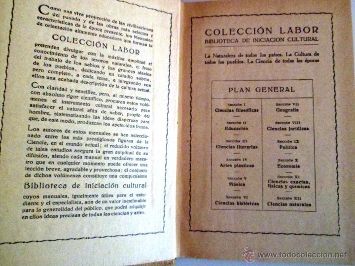 Libros antiguos: CITOLOGÍA Y ANATOMÍA DE LAS PLANTAS. HUGO MIEHE. PRIMERA EDICIÓN (1928) VER INDICE - Foto 10 - 39386139