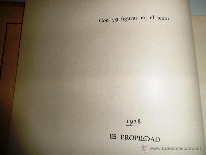 Libros antiguos: CITOLOGÍA Y ANATOMÍA DE LAS PLANTAS. HUGO MIEHE. PRIMERA EDICIÓN (1928) VER INDICE - Foto 9 - 39386139