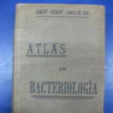 Libros antiguos: ATLAS DE BACTERIOLOGIA. LEHMANN-NEUMANN-GARCIA DEL REAL.MADRID LIBRERIA ACADEMICA 1908.. Lote 40450664