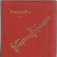 Libros antiguos: ELEMENTOS DE MATEMÁTICAS. ATANASIO LASALA Y MARTÍNEZ. TOMO II. VIUDA DE DELMAS. BILBAO. 1895. Lote 40603774