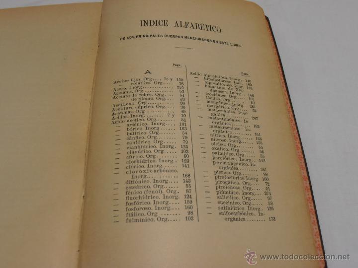 Libros antiguos: indice alfabetíco - Foto 11 - 40840339