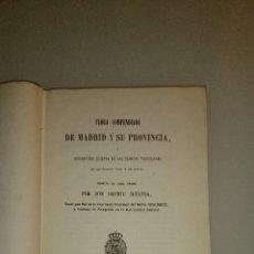Libros antiguos: FLORA COMPENDIADA DE MADRID Y SU PROVINCIA. CUTANDA, VICENTE. 1861. Lote 41627493
