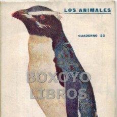 Libros antiguos: EL PINGÜINO. SU NATURALEZA, COSTUMBRES Y MODO DE CAZARLO. LOS ANIMALES. CUADERNO 25º. PRENSA POPULAR. Lote 41694903
