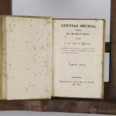 Libros antiguos: D-079. CUENTAS HECHAS UTILES. BARREME. IMP. GORCHS. 1840. . Lote 41801170