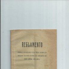 Libros antiguos: DAHIR JALIFIANO SOBRE MINAS / REGLAMENTO DE MINAS EN LA ZONA DE PROTECTORADO ESPAÑOL EN MARRUECOS.. Lote 42180814
