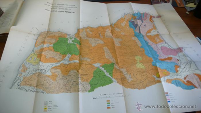 Libros antiguos: BOLETIN DEL INSTITUTO GEOLOGICO DE ESPAÑA. TOMO XLII-TOMO II. 1921.TERCERA SERIE. MARRUECOS. - Foto 6 - 42230768