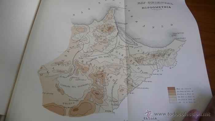 Libros antiguos: BOLETIN DEL INSTITUTO GEOLOGICO DE ESPAÑA. TOMO XLII-TOMO II. 1921.TERCERA SERIE. MARRUECOS. - Foto 10 - 42230768