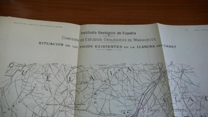 Libros antiguos: BOLETIN DEL INSTITUTO GEOLOGICO DE ESPAÑA. TOMO XLII-TOMO II. 1921.TERCERA SERIE. MARRUECOS. - Foto 12 - 42230768