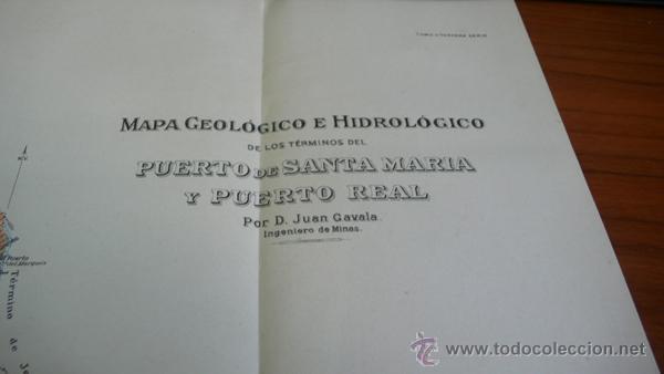 Libros antiguos: BOLETIN DEL INSTITUTO GEOLOGICO DE ESPAÑA. TOMO XLII-TOMO II. 1921.TERCERA SERIE. MARRUECOS. - Foto 15 - 42230768