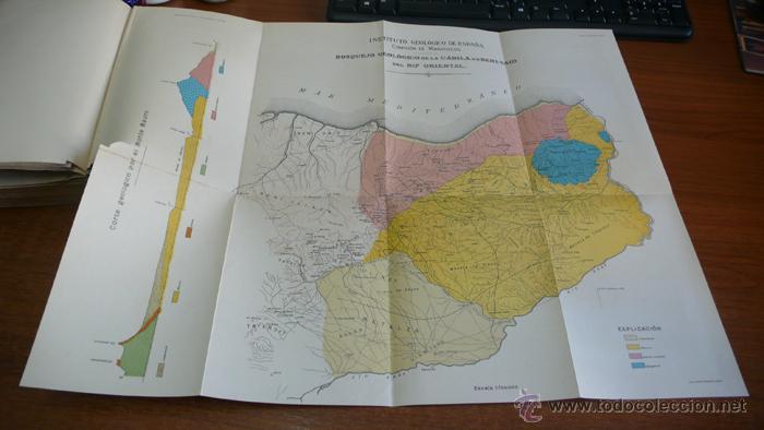 Libros antiguos: BOLETIN DEL INSTITUTO GEOLOGICO DE ESPAÑA. TOMO XLII-TOMO II. 1921.TERCERA SERIE. MARRUECOS. - Foto 20 - 42230768