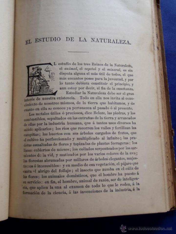 Libros antiguos: Mineralogia y Geologia - Dr. Juan Garcia Purón 1900 - Foto 3 - 42242050