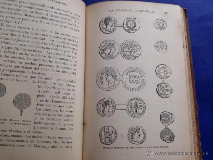 Libros antiguos: Mineralogia y Geologia - Dr. Juan Garcia Purón 1900 - Foto 4 - 42242050