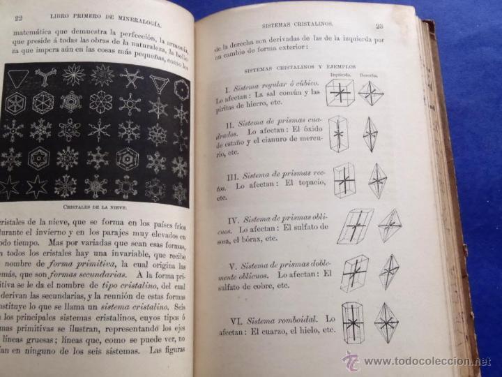 Libros antiguos: Mineralogia y Geologia - Dr. Juan Garcia Purón 1900 - Foto 5 - 42242050