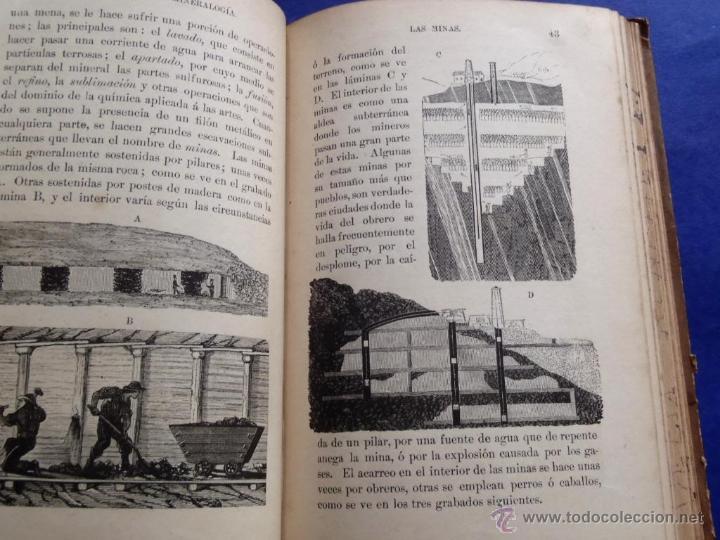 Libros antiguos: Mineralogia y Geologia - Dr. Juan Garcia Purón 1900 - Foto 6 - 42242050
