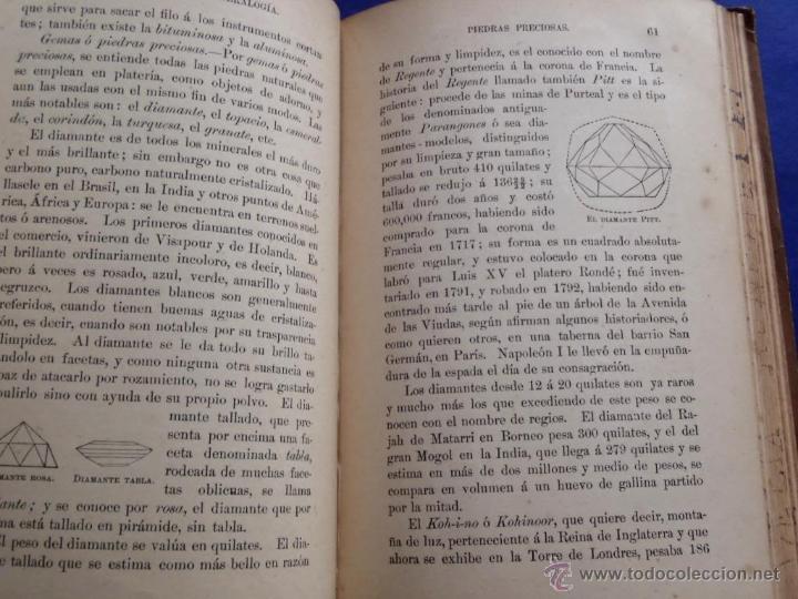 Libros antiguos: Mineralogia y Geologia - Dr. Juan Garcia Purón 1900 - Foto 7 - 42242050