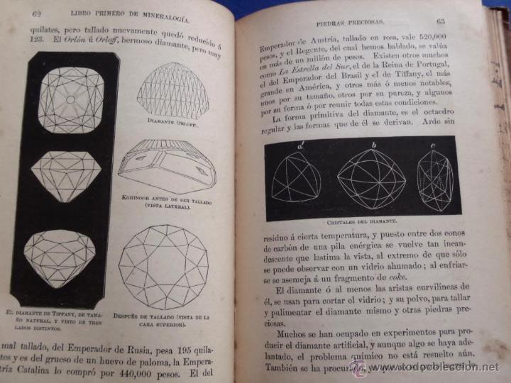 Libros antiguos: Mineralogia y Geologia - Dr. Juan Garcia Purón 1900 - Foto 8 - 42242050