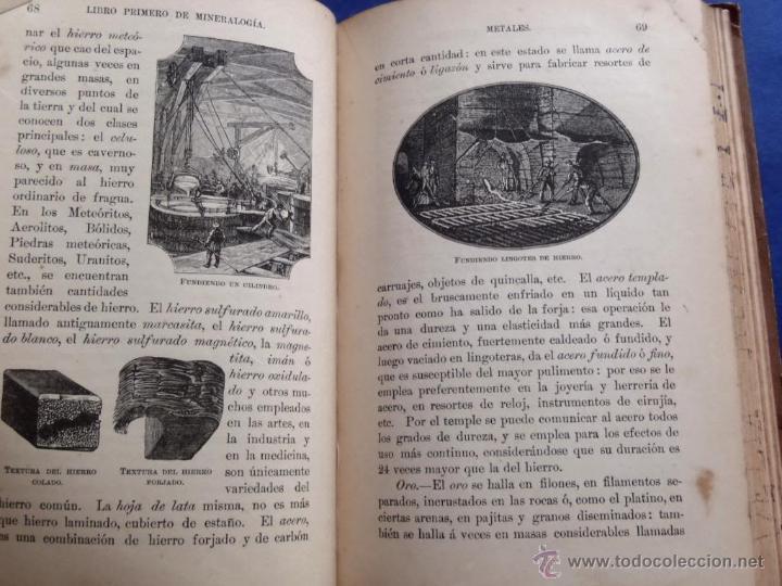 Libros antiguos: Mineralogia y Geologia - Dr. Juan Garcia Purón 1900 - Foto 9 - 42242050