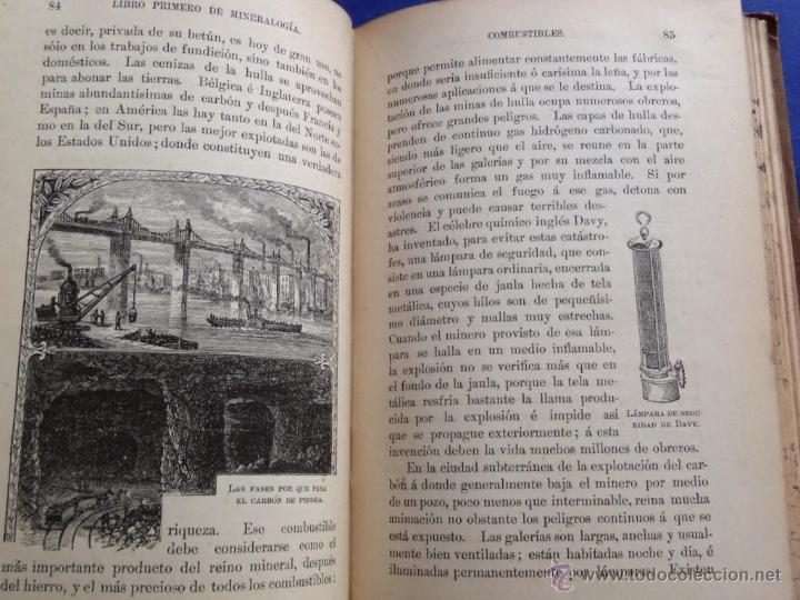 Libros antiguos: Mineralogia y Geologia - Dr. Juan Garcia Purón 1900 - Foto 10 - 42242050