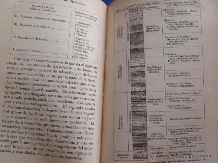 Libros antiguos: Mineralogia y Geologia - Dr. Juan Garcia Purón 1900 - Foto 13 - 42242050