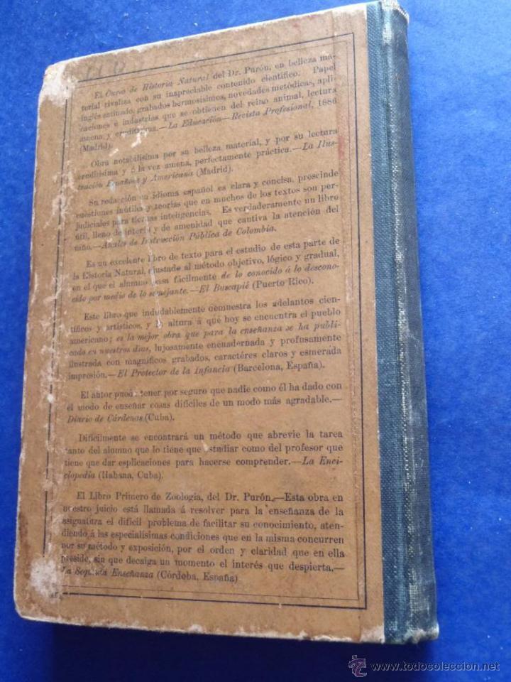 Libros antiguos: Mineralogia y Geologia - Dr. Juan Garcia Purón 1900 - Foto 24 - 42242050